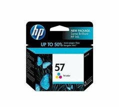 HP 57 Tri-Color - Cyan/Magenta, Yellow C6657AN Factory-Sealed Exp 08/13 - $34.95
