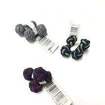 Bloomingdale's Graytok Collar Company   Men's Round Knot Cufflinks set of 3 - $14.84
