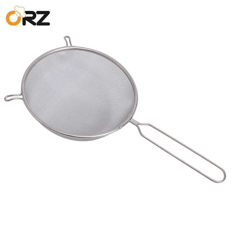 1pcs Colander Mesh Basket Steam Rinse Strainer Stainless Steel Filter Kitchen Sieve Fry French Chef Basket Cooking Tools Home & Garden Cookware Sets