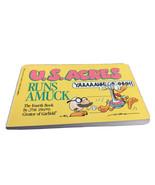 US Acres Runs Amuck by Jim Davis Orson's Farm Comic Strips Paperback Use... - $19.79