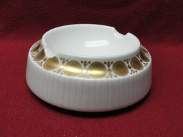 ROSENTHAL STUDIO LINE CHINA - MODULATION by Tapio Wirkkala - GOLD ACCENT... - $26.95