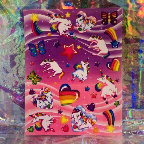 ⚡️SALE  S123 LISA FRANK Markie Unicorn Butterflies Hearts Stars HTF