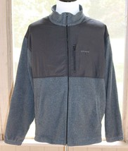 Chaps Size XXL Ralph Lauren Black & Fleece Nylon Shell Fleece Lined Jack... - $14.24