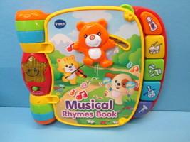 VTECH Musical Rhymes Book Nursery Rhymes for Babies - $8.86