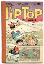 Tip Top Comics #103 1945- Captain and the Kids- low grade - $27.74