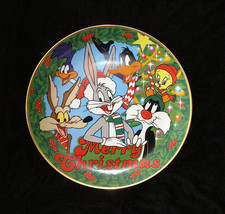 Looney Tunes Christmas Plate 1991 Home Décor Warner. Bros. - $28.99