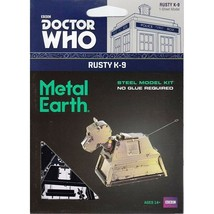 Fascinations Metal Earth Doctor Who Rusty K-9 Laser Cut 3D MMS403A - $10.95