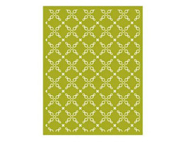 Lifestyle Crafts X Chains Background Embossing Folder #QK-ef00078