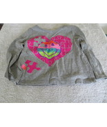 Garanimal's Heart Puzzle Gray Long Sleeve Shirt... - $3.95