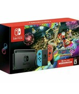 NEW Nintendo Switch Console Mario Kart 8 Deluxe Bundle Neon Blue/Red Joy... - $420.75