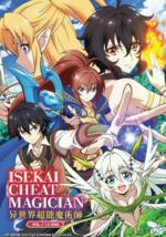 DVD Anime Isekai Cheat Magician Complete TV Series (1-12 End) English Su... - $18.90