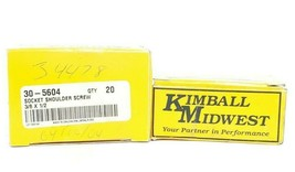 LOT OF 40 NEW KIMBALL MIDWEST 30-5604 SOCKET SHOULDER SCREWS 3/8X1/2