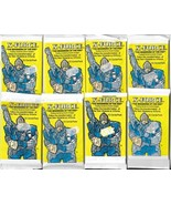 Marvel's X-Force 1991 Trading Cards 8 SEALED NEW Packs Comic Images Dead... - $41.59