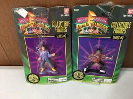1994 Mighty Morphin Power Rangers Collectible Figure Zack & Alien 2302 S... - $11.60