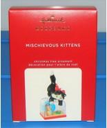 2020 Hallmark Keepsake Mischievous Kittens Christmas Ornament Series #22... - $44.90