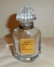 VINTAGE BELLE DE RAUCH PERFUME WITH GLASS STOPP... - $49.00