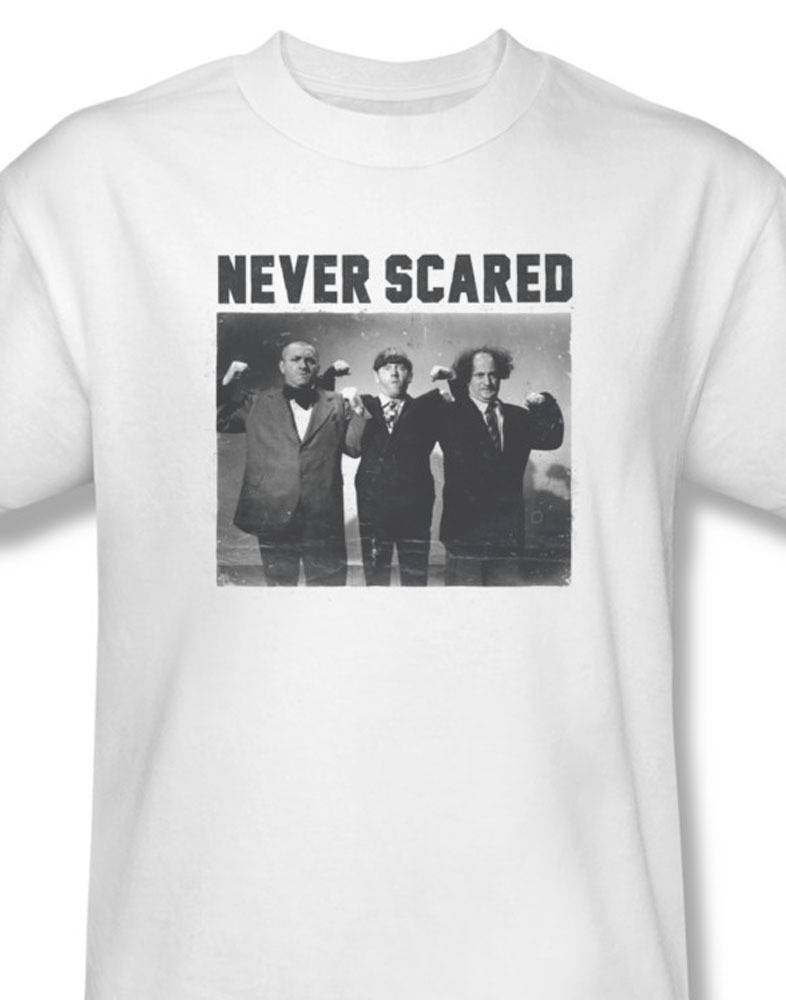 The three stooges comedy team never scared for sale online graphic tee 2 tts151 at
