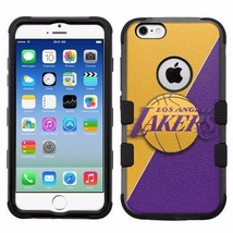for Apple iPhone 6/6S Rugged Armor Impact Hybrid Case Los Angeles Lakers #J - €16,01 EUR