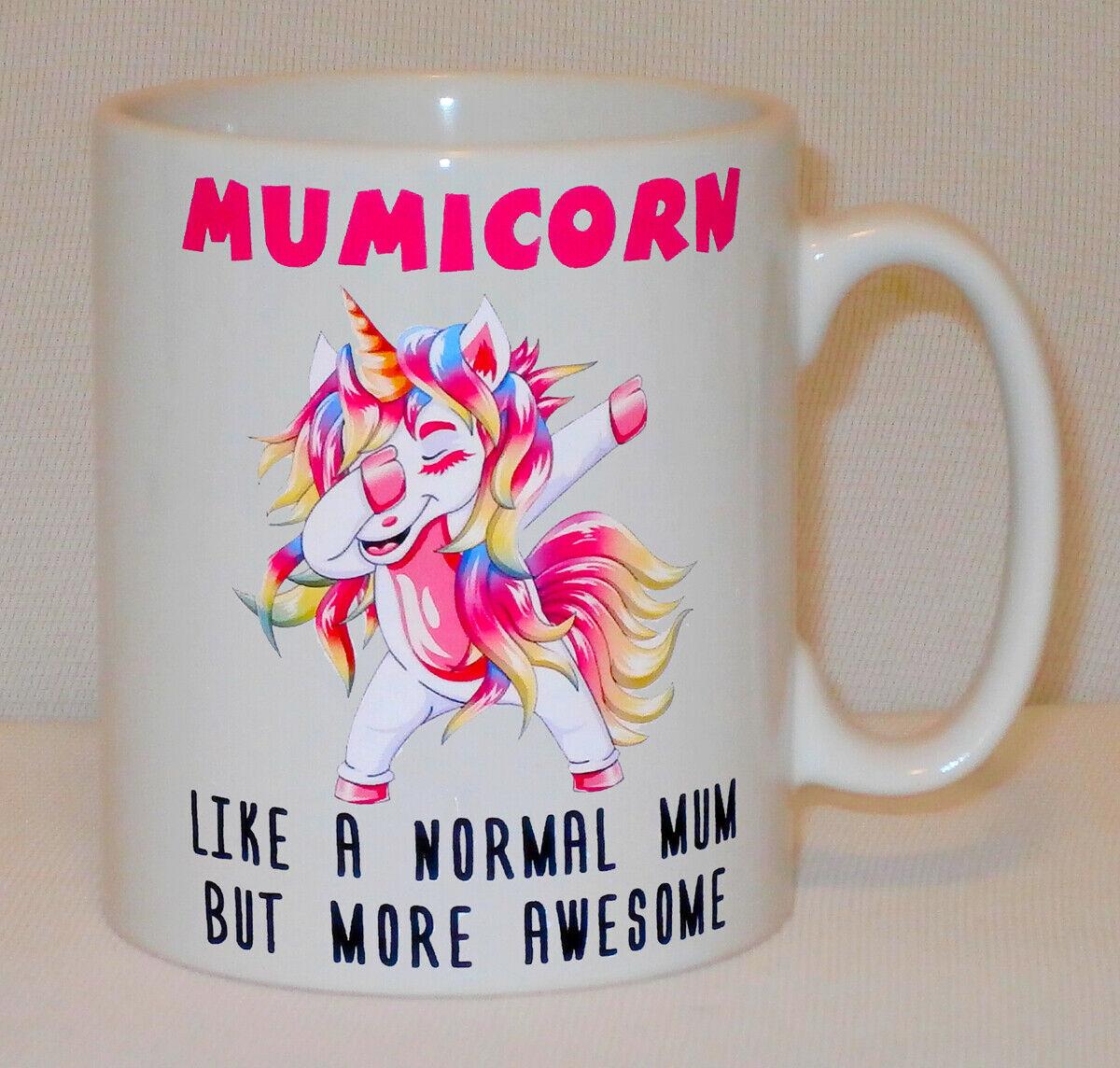 Mumicorn Unicorn Mug Can Personalise Funny Awesome Mum Mummy Mom Christmas Gift