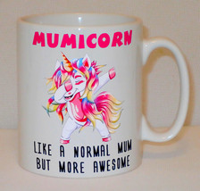 Mumicorn Unicorn Mug Can Personalise Funny Awesome Mum Mummy Mom Christm... - $11.16