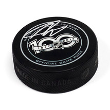 Nolan Patrick 2017 NHL Draft Day Puck Autographed Hockey Puck with 2nd Pick Note - $180.00