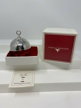 Reed & Barton Silver Plated Sleigh Holly Bell Ornament 1983 With Box and... - $34.05