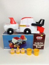 Vintage 1986 Little Tikes Garbage Truck 0703 In Box Complete w/ Chunky F... - $89.05