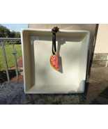 Rae Dunn Watermelon Weight Square Napkin Holder Tray New - $20.00