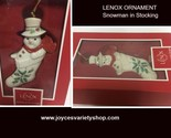 Lenox snowman in stocking web collage thumb155 crop