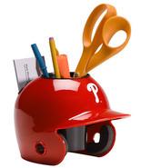 Philadelphia Phillies MLB Baseball Schutt Mini Batting Helmet Desk Caddy - $19.95