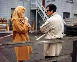 Ann-Margret in Once a Thief 16x20 Canvas Giclee With Alain Delon on Set - $69.99