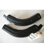 1980-1996 F150 F250 F350 Bench Seat Tilt Lever Trim Covers RH LH Black OEM - $48.85