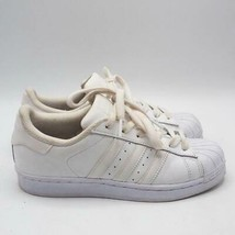Adidas Superstar Size 4.5 US Youth Originals Retro Leather Shell Shoes - $24.74