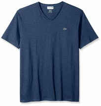 Lacoste Men's Premium Pima Cotton Sport Athletic Jersey V-Neck Shirt T-Shirt image 2