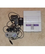 Nintendo Super NES SNES Video Game Console SNS-001 with Cords + Controller - $69.95