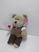 Starbucks Bearista 2007 58th Edition Bearista Valentines Day Boy Bear Pl... - $14.69