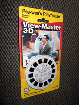 View-Master 3-D PEE-WEE's PLAYHOUSE 1987  NIP New unused 21 3-D Pictures - $9.00