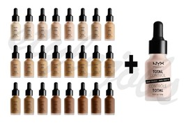 "NYX Total Control Drop Foundation TCDF & Primer TCDP SET ""Pick 1 Color"" - $26.99"