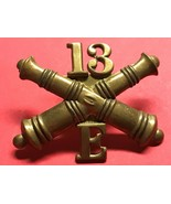 1896-1900, U.S. ARMY ARTILLERY CORPS, ENLISTED, E BATTERY, 13th REGT. CA... - $24.75