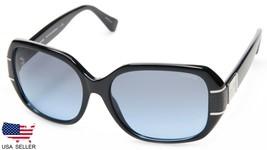 New Coach HC8119 L090 Bryn 500217 Black /LIGHT Blue Lens Sunglasses 56-16-140mm - $98.98