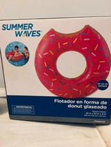 Summer Waves Frosted Donut Inflated Tube - $7.99