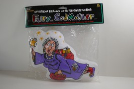 Amscan Over the Hill Fairy Godmother Pillow Cushion Birthday Party Gag Gift - $12.86