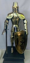 Medieval Knight Templar Armor Suit (Miniature) With Shield 2 Feet - $387.88