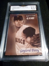 1998 fleer sports illustrated Gaylold Perry GMA Graded 8.5 NM-MT+ baseball 23 - $7.75