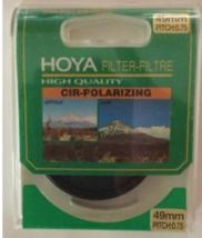 Photography HOYA Cir-Polarizing 49mm Pitch 0.75 Camera Filter NEW HIGH Q... - $26.18
