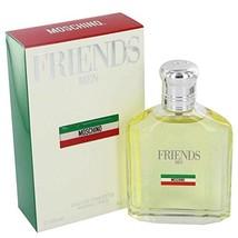 Moschino Friends by Moschino Eau De Toilette Spray 4.2 oz for Men - 100%... - $87.67