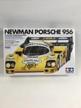 Gorgeous Tamiya 1/24 Newman Porsche 956 model kit '84 Le Mans Winner SHIPS ASAP! - $159.64