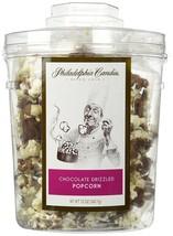 Philadelphia Candies Milk Chocolate Covered Drizzled Popcorn Gift Tub 12... - $15.79