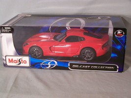 2013 SRT Viper GTS 1:18 scale diecast Maisto Special Edition - $45.08