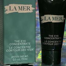 New In Box La Mer The Eye Concentrate 3mL & Moisturizing Soft Cream 7mL A Treat! image 3